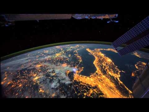 All Alone in the Night — Time-lapse footage of the Earth