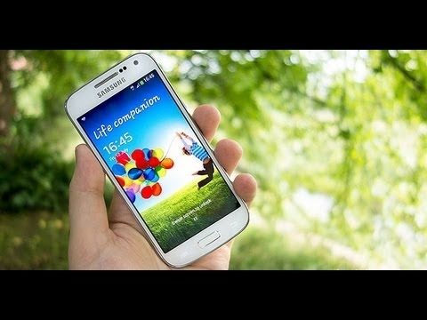 Samsung Galaxy S4 mini i9190 обзор